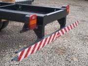 Instalação de Parachoque Traseiro em Caminhão